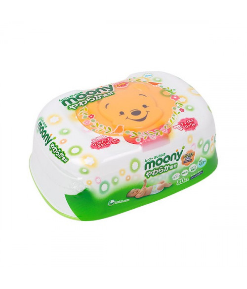Moony baby wipes soft materials case  80*1